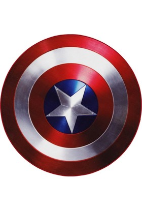 Captain America Rug Shield Kapı Paspası