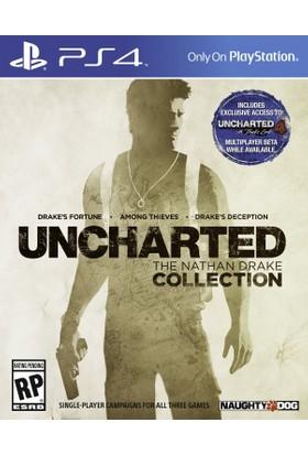 Uncharted : The Nathan Drake Collection PS4 Oyun (Türkçe Altyazı-Türkçe Dublaj)