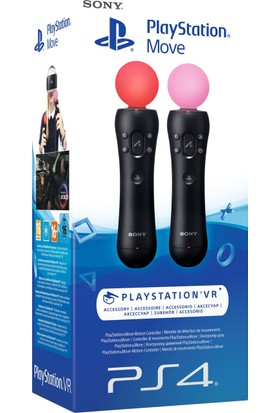 Sony Playstation Vr Move Controller Twin Pack