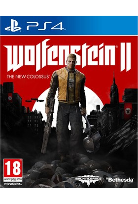 Wolfenstein II The New Colossus Ps4