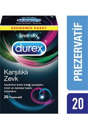 Durex Karşılıklı Zevk Prezervatif 20'li Avantaj Paketi