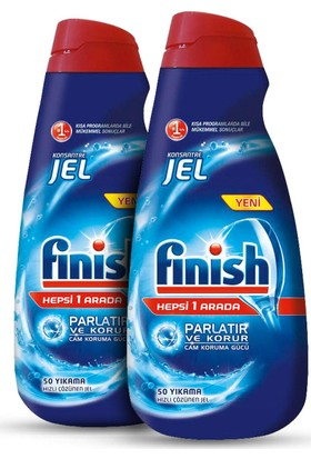 Finish Konsantrre Jel 1000 ml x 2 Adet