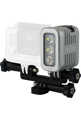 Qudos Aksiyon Kamera İçin Action Silver Işık Seti