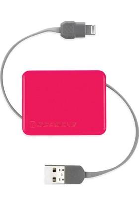 Scosche MFI Lightning Iphone 7/8/X Ipad Uzatmalı USB Kablo
