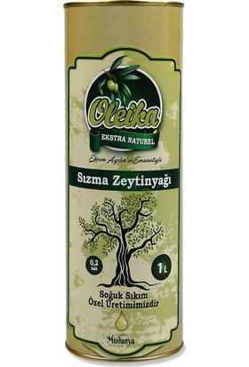 Oleika Soğuk Sıkım 0.2 Asit Özel Hasat Doğal Sızma Zeytinyağı 1 Litre Teneke – (Yeni Hasat) Mudanya