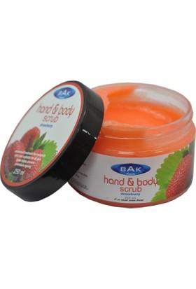 Bak Hand & Body Scrub Çilek Peeling 250 Ml