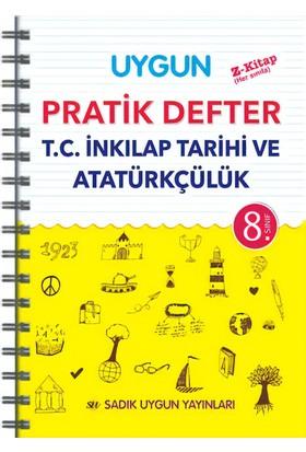 Sadık Uygun Yayınları Pratik Defter İnkilap Tarihi 8.Sınıf