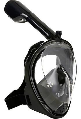 Angel Eye Easybreath Şnorkel Su Altı Maskesi Aksiyon Kamera Takılabilir
