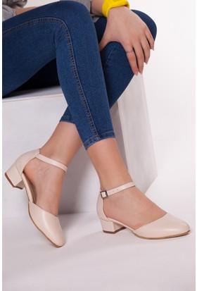 Tarçın Trc01-0142 Topuklu Ayakkabı Taş