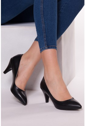 Tarçın Trc01-0139 Topuklu Ayakkabı Siyah