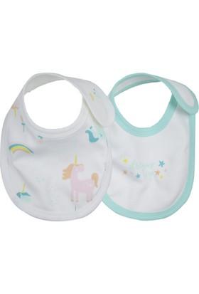 Baby Corner 2'li Mama Önlüğü Unicorn