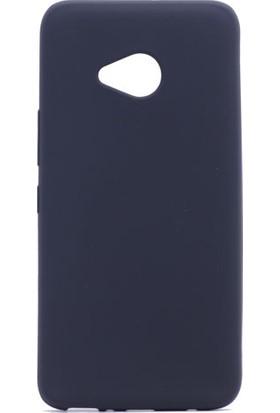 HappyShop HTC U11 Life Ultra İnce Mat Silikon + Nano Cam Ekran Koruyucu - Siyah