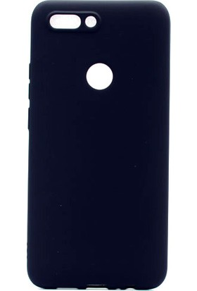 HappyShop Casper Via F2 Kılıf Ultra İnce Mat Silikon + Cam Ekran Koruyucu - Siyah