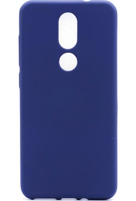 HappyShop Casper Via A2 Kılıf Ultra İnce Mat Silikon + Nano Cam Ekran Koruyucu - Lacivert