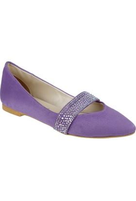Shalin Kadın Ayakkabı - Ag 1013 Lila Süet