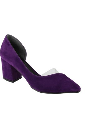 Shalin Kadın Ayakkabı - Bşk 354 Mor Süet