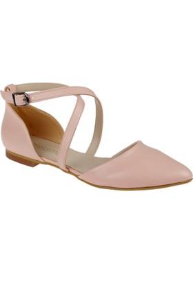 Shalin Kadın Ayakkabı - Msm 03 Pudra