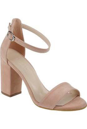 Shalin Kadın Sandalet - Msm 120 Pudra