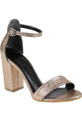 Shalin Kadın Sandalet - Msm 120 Rose