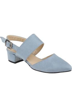 Shalin Kadın Ayakkabı - Msm 6721 Mavi