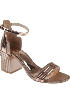 Shalin Kadın Sandalet - Cd 404 Rose