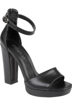 Shalin Kadın Sandalet - Msm 110 Siyah