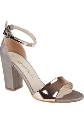 Shalin Kadın Sandalet - Msm 2410 Rose