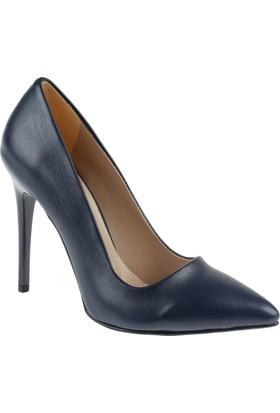 Shalin Stiletto Kadın Ayakkabı - Hsk 078 Lacivert