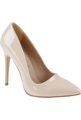 Shalin Stiletto Kadın Ayakkabı - Hsk 078 Ten Rugan