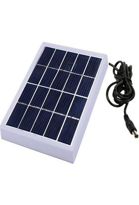 Orbus Güneş Enerji Paneli Solar 6V 1W Kasalı Kablolu