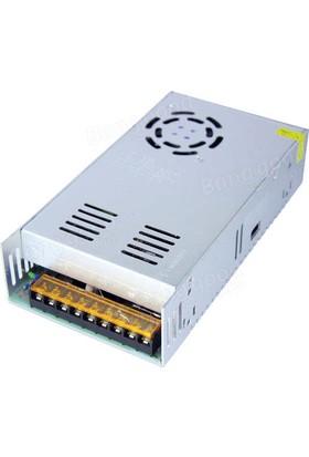 Polaxtor Adaptör 12V 40A 480W Metal Kasa Trafo Fanlı Korumalı