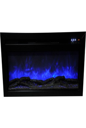 Ateşin Efendisi Next Elektrikli Şömine Andong 130'luk Ses Efektli 10 Renkli Hazne