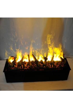 Ateşin Efendisi Elektrikli Şömine 3 Boyutlu 150'lik