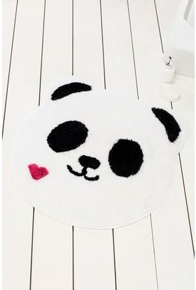 Chilai Home Panda Shape Banyo Halısı