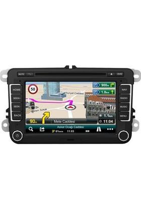 Pasaat Jetta Golf Polo Caddy 7 inç Android Navigasyon Multimedya Tv Usb Oem