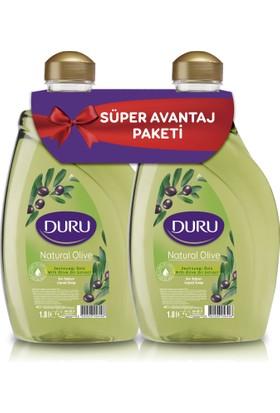 Duru Natural Olive Zeytinyağlı Sıvı Sabun Süper Avantaj Paketi 1.8 lt & 1.8 lt