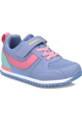 Kinetix Grace Açık Mavi Pembe Açık Turkuaz Kız Çocuk Sneaker