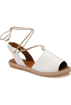 Butigo Date*01Z Beyaz Kadın Espadril Ayakkabı