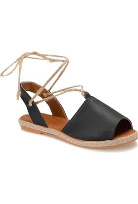 Butigo Date*85Z Siyah Kadın Espadril Ayakkabı