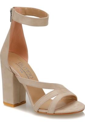 Butigo Elegan 11Z Vizon Kadın Sandalet