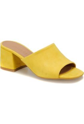 Butigo Lazilla Z Sarı Kadın Terlik