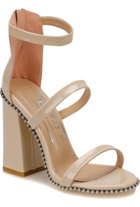 Butigo Mood 12Y Ten Rengi Kadın Sandalet