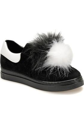 Butigo Pio Z Siyah Kadın Sneaker Ayakkabı