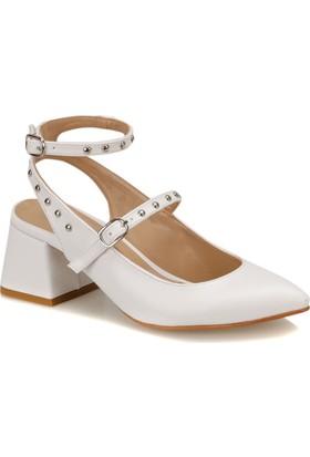 Butigo Tanya 01Z Beyaz Kadın Gova Ayakkabı