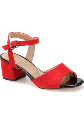 Butigo Tolk Z Kırmızı Kadın Sandalet