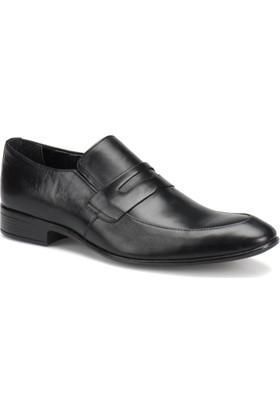 Garamond 251 M 1602 Siyah Erkek Deri Klasik