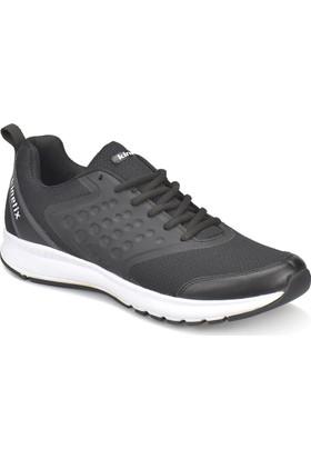 Kinetix Basta Siyah Beyaz Erkek Koşu Ayakkabısı