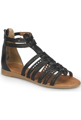 Polaris 81.311512.Z Siyah Kadın Sandalet