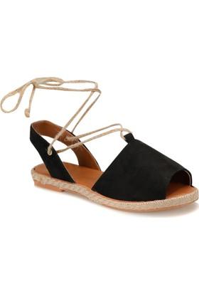 Butigo Date*32V Siyah Multi Kadın Espadril Ayakkabı