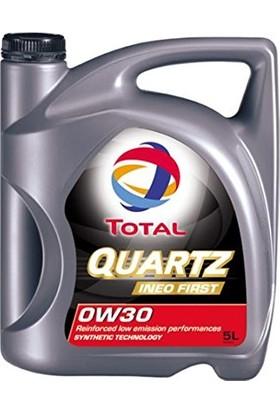 Total Quartz Ineo First 0W30 4 Lt. Motor Yağı